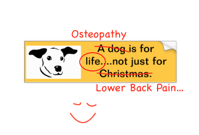 Osteopathy Is For Life