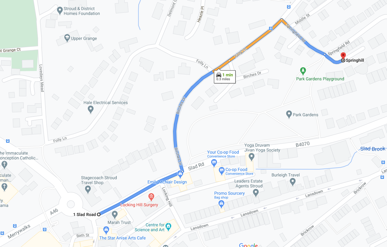 Map to Nuno Bento, Osteopathic Clinic